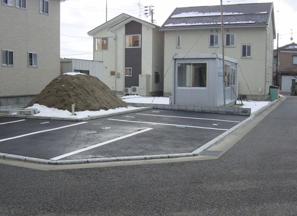 駐車場工事施工後|(株)伊藤商店