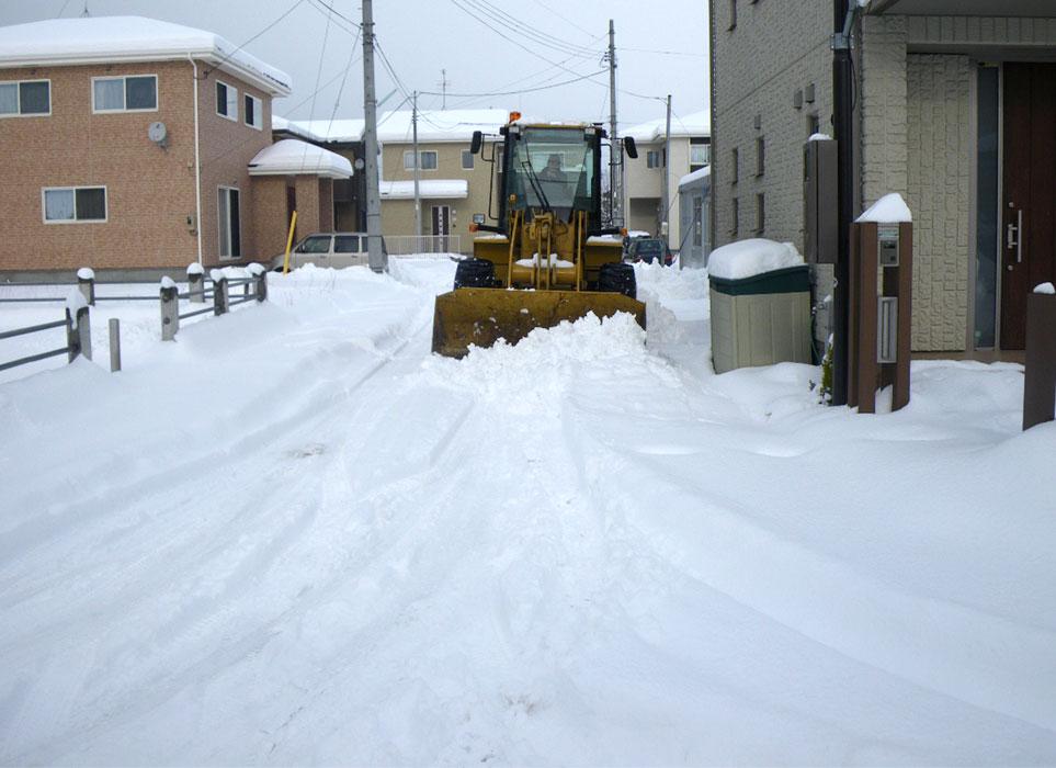 除雪作業|(株)伊藤商店